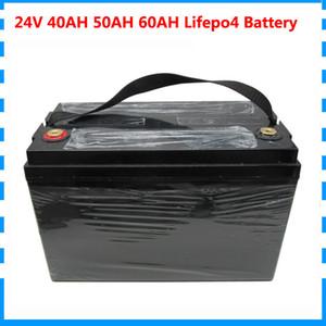 1000W 24V 40AH / 50AH / 60AH batterie 24V 8S lifepo4 Ebike batterie UPS droits de douane libre avec 29.2V 10A Chargeur