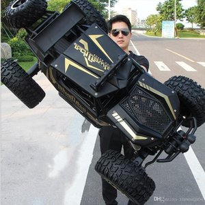 1: 8 50cm ultra-große RC-Auto 4x4 4WD 2.4G Bigfoot Hochgeschwindigkeitsfahrzeug Jeeps Geschenk Spielzeug Fernbedienung Buggy LKW Klettern Gelände