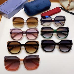 جديد أزياء المرأة العلامة التجارية مصمم النظارات الشمسية 5886 إطار بسيط للأشعة فوق البنفسجية 400 الصيف حماية الهواء الطلق النظارات النظارات الجملة شعبية