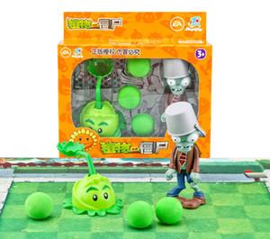 ПВЗ Новых Популярных игр ПВЗ многоцветные Растения против Зомби ПВХ действий Цифры ПВЗ завод + Zombies Цифры Игрушки для игрушечной фигурки модели игрушки