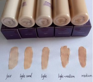 Hot Selling Face Concealer 5 colors Shape Tape contour Concealer Fair Light Light medium Medium Light sand 10ml liquid foundation