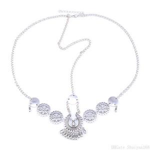 Boho Vintage Ethnic Headband Hair Accessory Flower Tassel Coin Charm Head Chain Forehead Wedding Hair Accessories Jewelry for Women