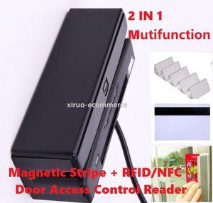 Lector de control de acceso multifunción Escritor para la raya magnética o MAGSTRIPE + IC o MAGSTRIPE + RFID o MAGSTRIPE + IC + RFID + PSAM para la cerradura de la puerta