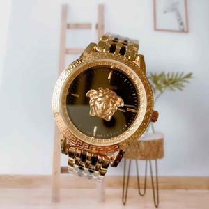 2020 Новые моды часы 49мм Мужские Роскошные Мужские нержавеющей стали Кварцевые часы Military Монте Homme Мужские часы Relojes HOMBRES Relogios