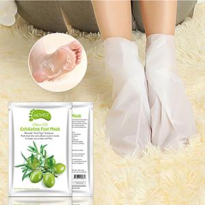 8 Flavor ALIVER Feet Exfoliating Foot Mask Magic Dead Skin Peeling Feet Mask Sock Exfoliating Foot Mask Feet Skin Care