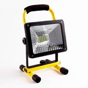 Высокая мощность 60W LED-прожекторы 36pcs LED Handheld Searchlight 3600lm Водонепроницаемый Садоводство свет перезаряжаемые лампы
