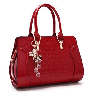 Free2019 Tide Winter Crocodile Grain Braut Marry Woman Package Handtasche Ma'am Single Shoulder Messenger Bale