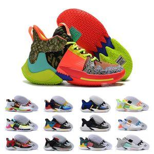 2020 Venta Por qué no es cero 2.0 zapatos de baloncesto de Jumpman PE zapatillas de deporte de las zapatillas de deporte Russell Westbrook II Zer0.2 Diseñador Formadores Zapatos Zapatos
