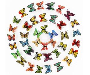 인공 3D 나비 자석 스티커 자석 자석 홈 인테리어 DHL 무료