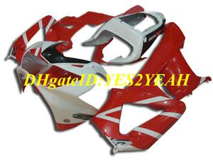 Oi-grade de molde de Injeção kit de Carenagem para Honda CBR900RR 929 00 01 CBR 900RR CBR900 2000 2001 Vermelho Quente branco Carenagens set + Presentes HZ35