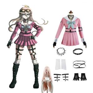 Danganronpa V3 Töten Harmony Iruma Miu Cosplay Kleidung Accessoires Perücken High Quality