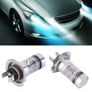 1X HID الأبيض H7 6000K 100W LED 20-SMD العارض الضباب القيادة DRL ضوء لمبة 88 WWO66
