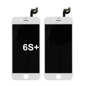 5.5 pouces partie en noir et blanc téléphone portable de rechange lcd panneau de l'écran tactile pour iPhone assemblage 6S plus remplacement numériseur