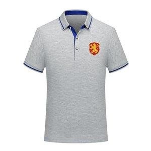 болгария 2020 сборная хлопка лета футбол рубашки поло мужчин с коротким рукавом отворот поло футбол мужчин рубашки поло Джерси обучение Мужская Polos