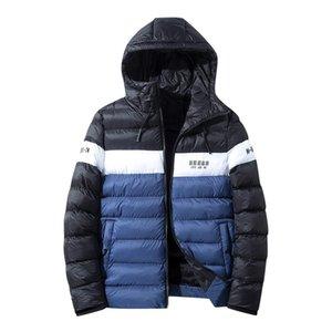 Chaqueta Feitong hombres del invierno remiendo con capucha Parka 209 caliente gruesa chaqueta poco voluminoso luz superior capa del hombre cazadora hombre abrigo