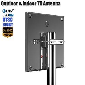 HD антенна для цифрового ТВ Поддержка DVB T2 ATSC ISDBT TV Antenna Outdoor / Indoor TV Усилитель сигнала с высоким коэффициентом усиления Низкий уровень шума антенны T200608