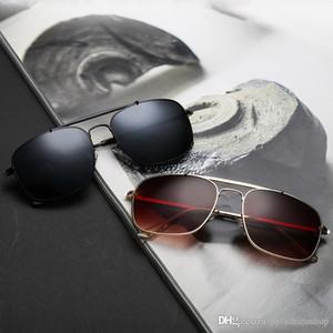 Yeni marka moda 3560 güneş gözlüğümetal sürücü sürüş güneş gözlüğü kare erkekler yansıma önleyici güneş gözlüğü toptan Gözlük Gözlük 4 renkler