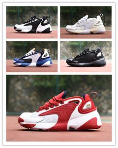 2019 M2k Tekno Zoom 2 K ZM 2000 Erkekler Yaşam Tarzı Eğitmeni rahat Ayakkabılar Siyah Beyaz Mavi Turuncu moda rahat ayakkabılar Boyut EUR 36-45