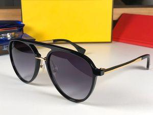Lujo 0105 gafas de sol de diseñador para las mujeres Moda Sun Glass Oval Frame Coating Mirror UV400 Lente Fibra de carbono Piernas Estilo de verano Gafas
