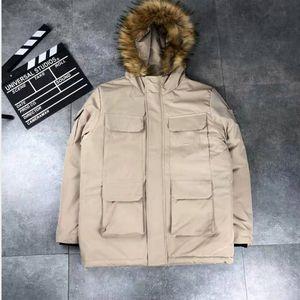 Veste d'hiver Parkas Vestes Designer Manteau de duvet Budge Taille Windbreaker Marque Hommes Femmes Luxe Vestes Zipper épais manteau 2