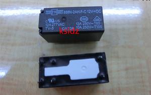 Free shipping(5pieces lot)100%Original New 888N-2AH-F-C 888N-2AH-F-C-12VDC 6PINS 12A dc12v Power Relay