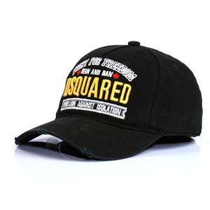 Toptan 2 renkler 100% Pamuk Beyzbol Kapaklar Mektuplar Erkek Kadın Klasik Tasarım SIMGE Logosu Şapka Snapback Casquette Baba Şapkaları