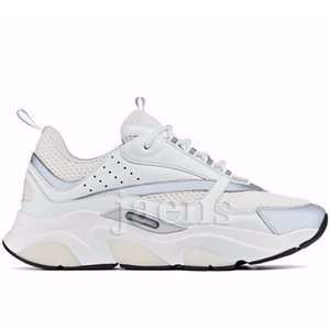 Novos Homens B22 Oblíqua Branco de Alta Qualidade Liga B23 Preto Triplo Tess Malha Moda Feminina De Luxo Casos B24 Designer de Calçados Casuais