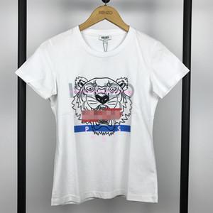 Mulheres Designershirts Luxo Lady verão T-shirts Tiger clássico pulôver manga curta Feminino Brandshirt Top Tees menina camiseta B105591L B2