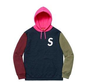 Designer Men Hoodie box logo Sweatshirt Mens Hoodies sup Luxury Clothing Long Sleeved Youth Movements Brand Streetwear