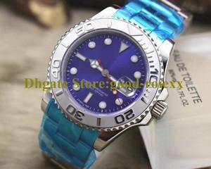 Ásia automática Grey Blue 3 de homens de cor Dial Relógios Homens måste 116622 Assista 40mm Relógios 126622 Esporte mecânicos de aço Sapphire Relógios de pulso