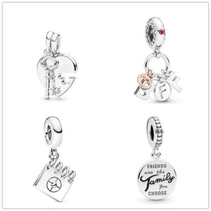 2019 New Winter 100% 925 Sterling Silver Dangle Charm Bead Fits European Pandora Jewelry Bracelets Necklaces & Pendants
