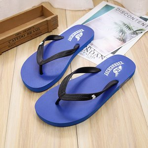 New Products-Style Deer Flip-flops Men's Summer Anti-slip Comfortable Wear-Resistant Europe And America Sandals Flip-flop Sandal