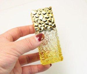 Garrafas de perfume 25ml de vidro Spray atomizador spray garrafa plástica de vidro viagem Cube Container Embalagem Garrafa nova GGA2818