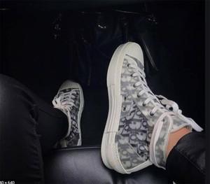 Diòr Homme femme x KÀWS By Kìm Jones High Top Fashion Design Sneaker Classic Oblìque Printing Logos Men Women Casual Shoes Skateboard Shoes