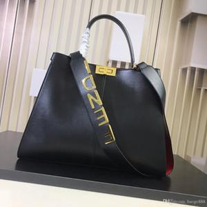 2019 nouveau sac en cuir de mode, un sac à bandoulière, double sac à bandoulière, modèle: 3307 Taille: 43 cm-1