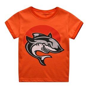 Children's Pajamas Summer Short Sleeve T shirt +Shorts Clothes Set Kids Pyjama Baby Boys Shark Pijama Toddler Sleepers Sleepwear