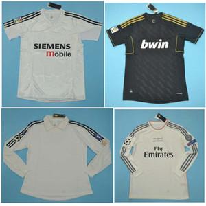 Top 2002 2004 2005 Real Madrid retro camisetas camiseta de fútbol 02 04 05 2011 2012 2013 2014 ZIDANE BECKHAM RONALDO camisa 11 12 13 14 Camisetas