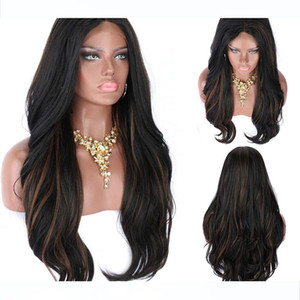 8A Brazilian Virgin Human Hair Lace Front Wig Loose wave Highlight Color 1bT30 Ombre Full Lace Wigs Pre Plucked Natural Hairline for Women