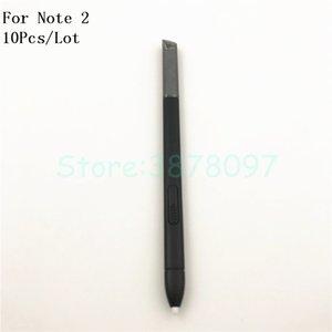 10 Unids / lote para Samsung Note 2 Pen Active Stylus S Pen Para Samsung Galaxy Note 2 N7100 Caneta Pantalla táctil Pen S-Pen con logotipo