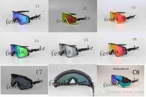 2018 جديد WIND GOWGLE نظارات ركوب الدراجات نظارات الشمس نظارات شمسية عالية الجودة العلامة التجارية مصمم النظارات الشمسية للجنسين