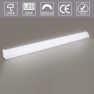 US Stock LED Tube Light Bar Cool White 2FT 3FT 4FT LED Batten Tube Light Linear Slimline Panel Ceiling Lights Wall Shed