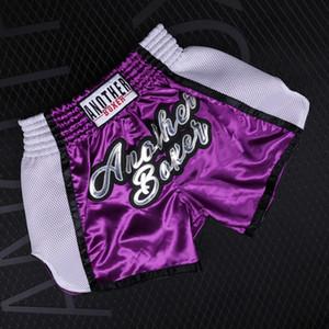Hombres / Mujeres pantalones deportivos / Niño boxeo de la lucha de fitness transpirable de secado rápido pantalones cortos barato muaythai cortos de Muay Thai