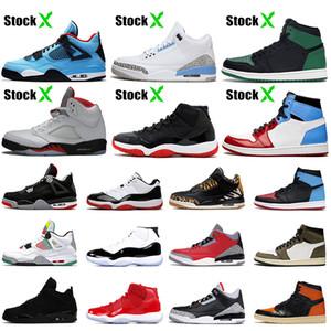 En Yeni Bred 11'leri Nike Air Jordan Retro ayakkabı 11 Kadın basketbol ayakkabıları Şapkanız Concord 2019 Yılan derisi Eğitmenler spor ayakkabılar mens