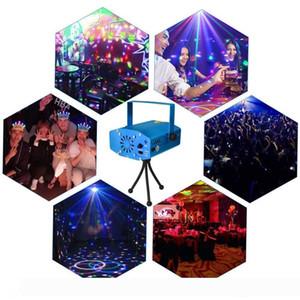 Мини Лазерная сценического освещения 150mW Мини GreenRed лазерный DJ Party Stage Light Black Disco Dance Floor огни (синий)