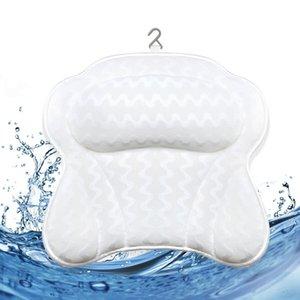 De secado rápido netas 3D de la mariposa patrón de forma Otros Artículos de higiene sanitaria Bath lavable Único de bañera Almohada almohada de baño forma de mariposa