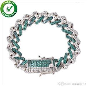 Men Bracelet Luxury Designer Jewelry Mens Bracelets Diamond Tennis Charm Bracelet Hip Hop Accessories Rapper Fashion Hiphop Love Link Chain