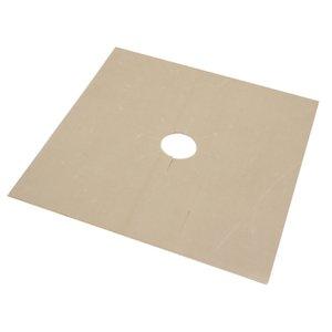 4 Hoja de PC reutilizable Cocina de gas Liner cubierta del protector de Gas Estufa Horno Protección Pad (27x27CM) AUG889