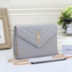 Nuovo Crossbody metallo Lettera anteriore Designer Handbags PursesYSLDonne Meessnger sacchetto dell'unità di elaborazione Leather Shoulder Bags02