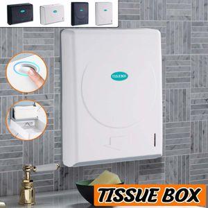 Thicken Wall Mounted Tissue Box Holder tissue case holder for Car Bathroom Office Paper Towel Dispenser Home Storage Box