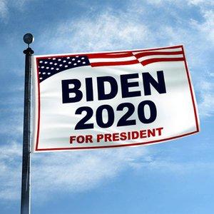 2020 Biden Bayrağı 90 * 150cm Cumhurbaşkanlığı Kampanyası Bayrak Biden Destekleyenler Biden Banner Ev Bahçe Dekorasyon Banner Hd T3I5786 Teşvik